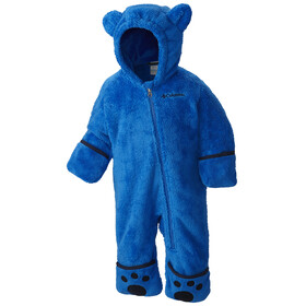 Columbia Foxy Baby II Bunting Fleece Suits Toddlers Super Blue/Collegiate Navy
